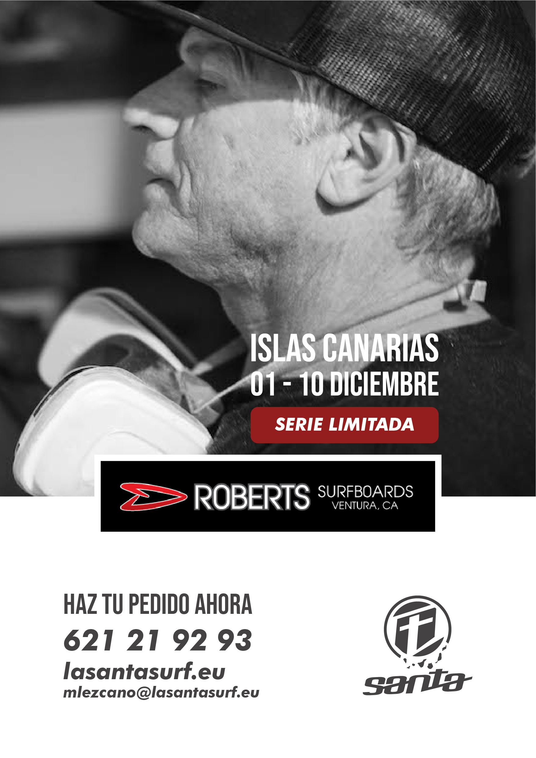 Roberts Surfboards in Lanzarote - Canary Islands - La Santa Surf